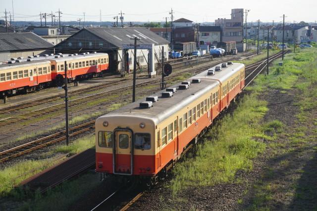 小湊鉄道 五井跨線橋 見納め