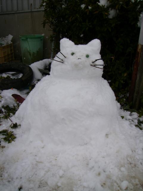 雪だるま .JPG