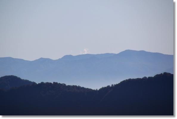 栂池ロープーウェイ-3 噴煙は浅間山? 15.10.3