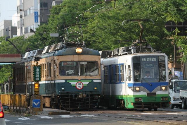 福井鉄道200形 路面を走る4