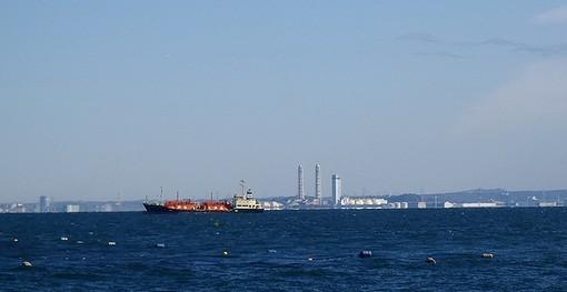 20130104 福浦から千葉方面を望む