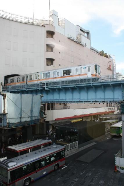 変貌する 渋谷駅と 銀座線3