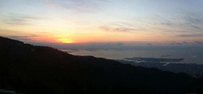 2013六甲山日の出