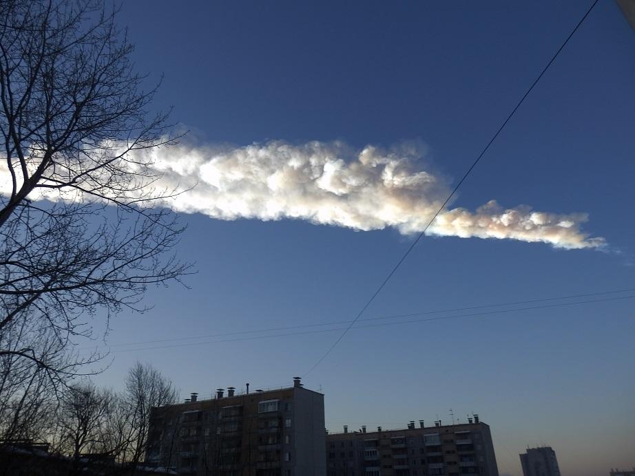チェリャビンスク州隕石落下