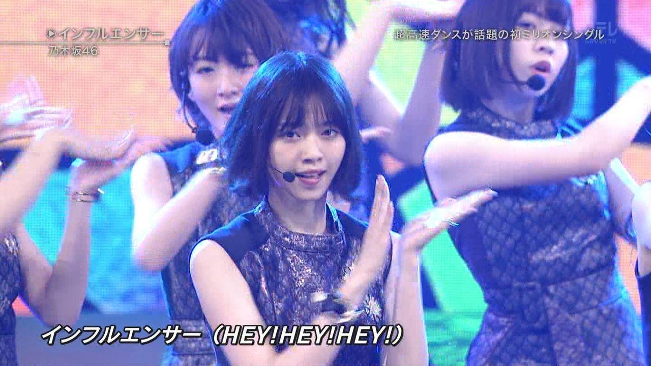 昨日、乃木坂46は「ベストヒット歌謡祭2017」に出演して今年の代表曲『インフルエンサー』を披露した。  先日、TVドラマ主演のために髪を切りショートカットにした