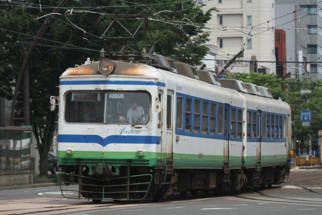 福井鉄道 大型車両 フル活動