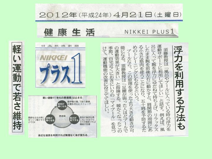 2012日経プラスワン