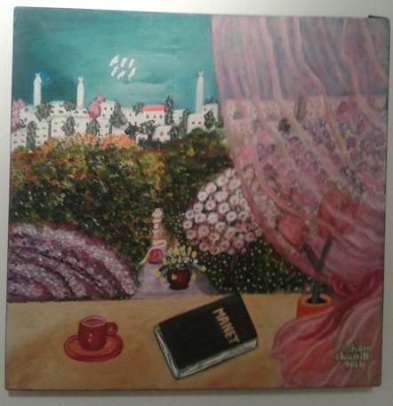 ヨルダン人の画家さんの絵1