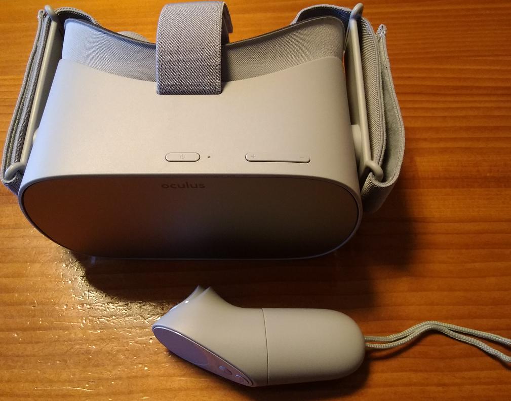Oculus Go 外観