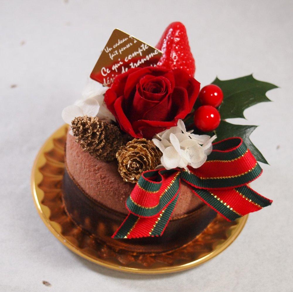クリスマスフラワーケーキ