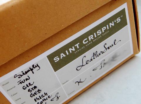 サンクリスピン Sanint Crispin's ハワイ レザー ソウル ソール Leather Soul 革 靴 枚