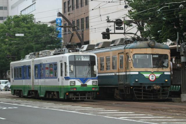 福井鉄道 新旧 並びの 数々6