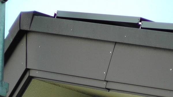 設置後の太陽電池パネル