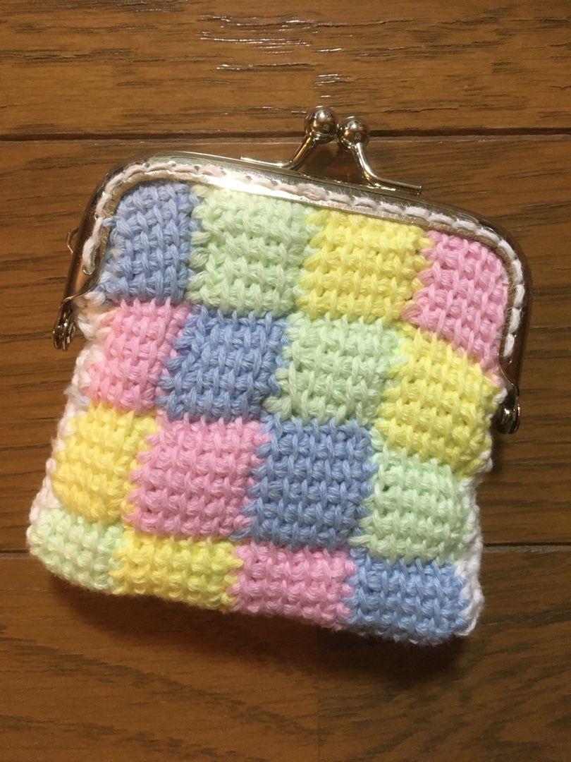 刺繍 糸 で 編む