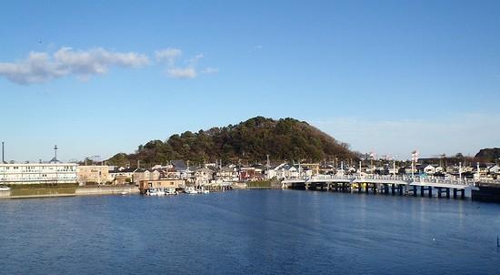 201301夕照橋と野島