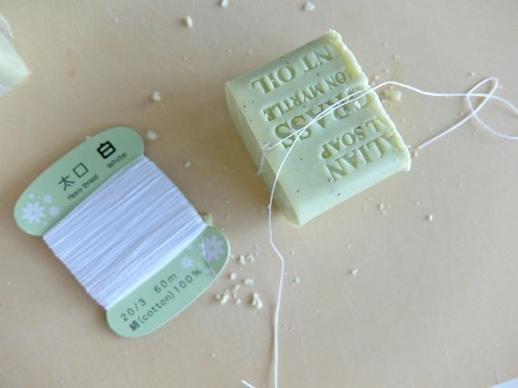 コストコ ブログ オーストラリアン ボタニカル バーソープ 石けん 石鹸 切り方 カット