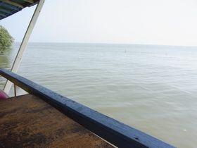 ナムティップ2から見たドーン・ホイロートの海