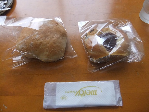 梅島3丁目・喫茶ゆうあいのパン2