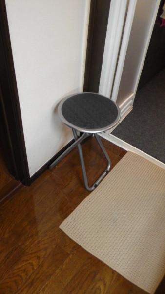 丸椅子 スツール 脱衣所