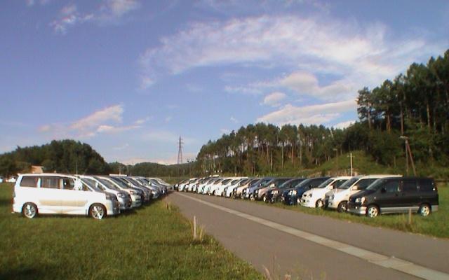 2003年に長野で行われた全国オフミの様子