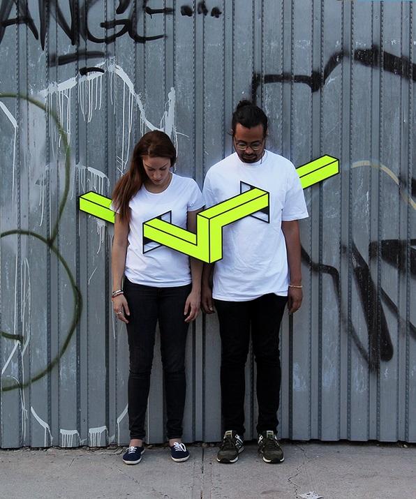 錯覚 Tシャツ