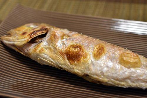 アマダイの塩焼き