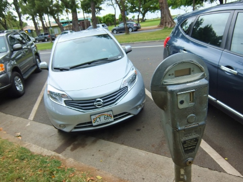 ヒルトン 駐車 駐車場 料金 ドル $ ハワイ ワイキキ パブリック