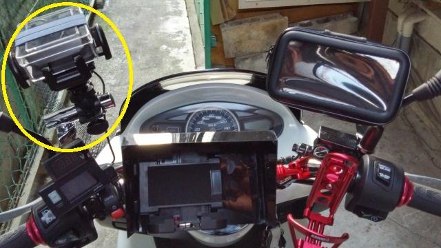 カメラマウント PCX 分解