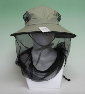 虫よけ帽子