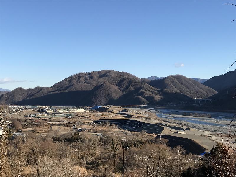 冬の醍醐山(だいごやま)   醍...