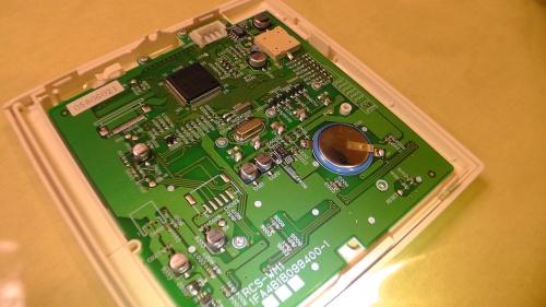 表示ユニットSDP0201Cの基板