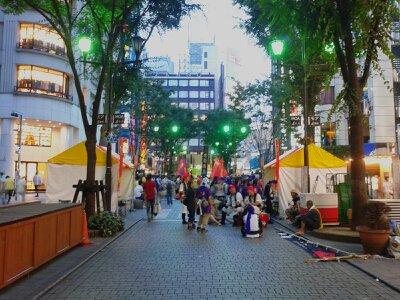 新宿エイサー祭り2013年7月・3