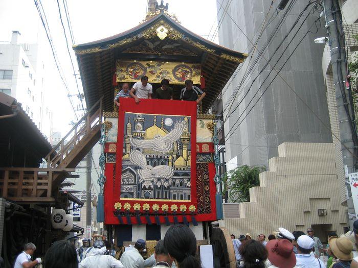 パワースポット 京都 祇園祭 山鉾1