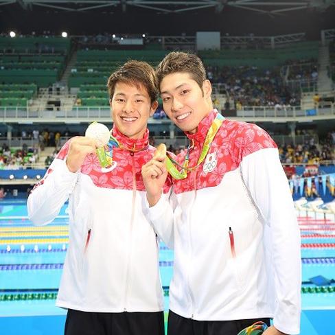 水泳 金メダル