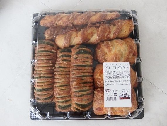 コストコ レポ ブログ トリプル フロマージュ デニッシュ 1298円 パン