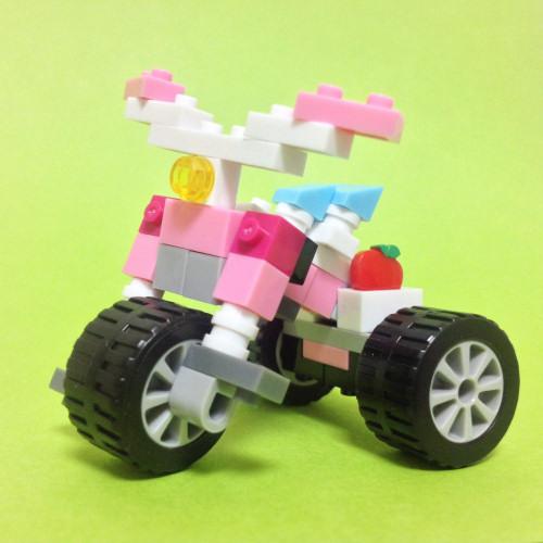 ナノブロックプラス 三輪車
