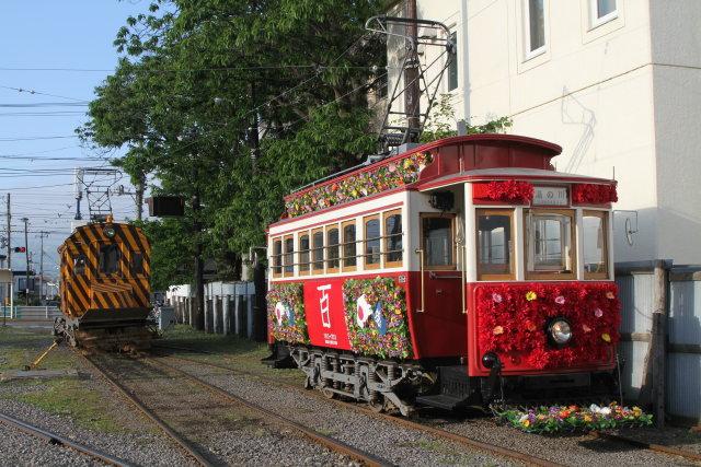 函館市電 100周年花電車運行3