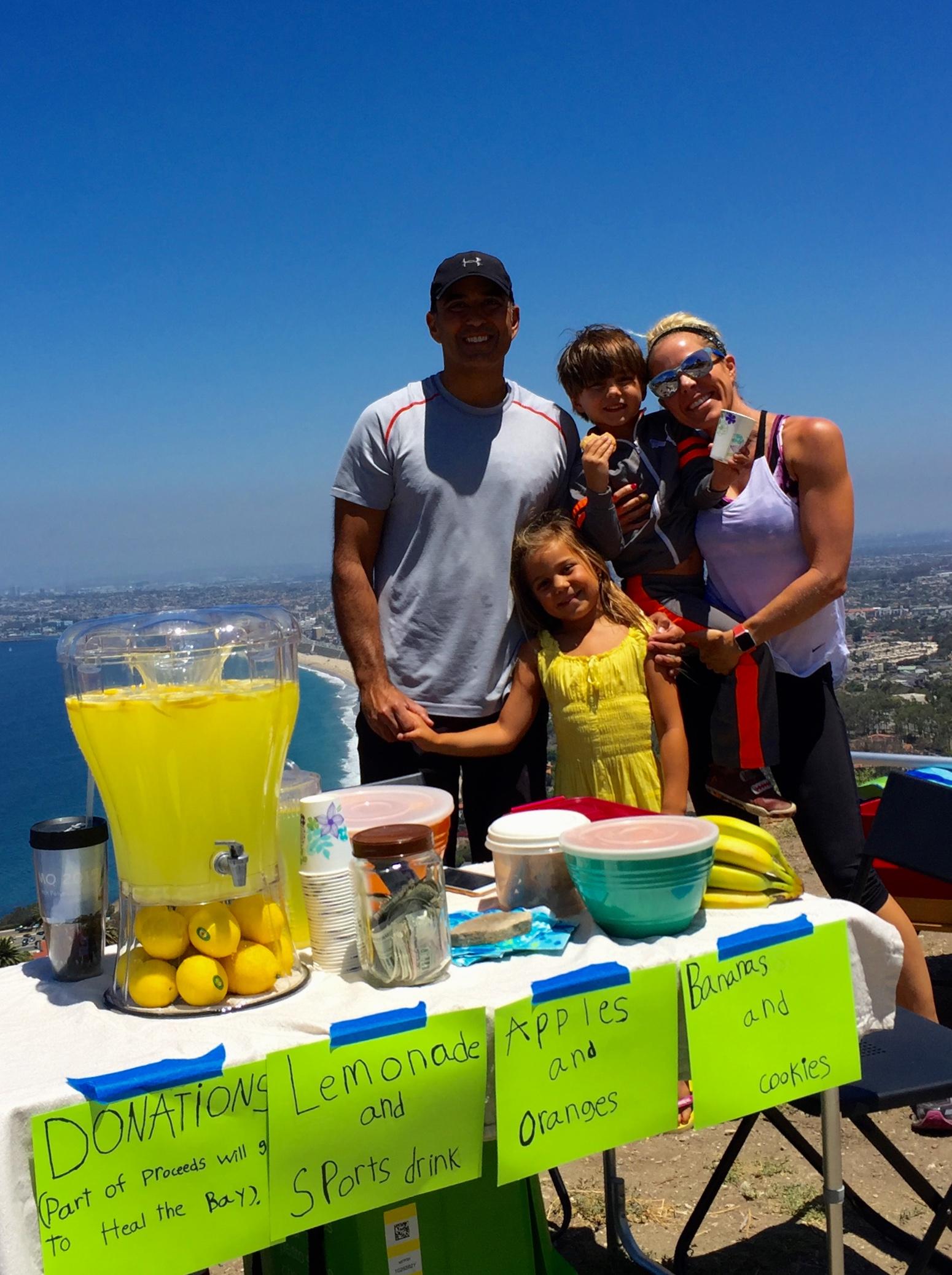 Lemonade sales