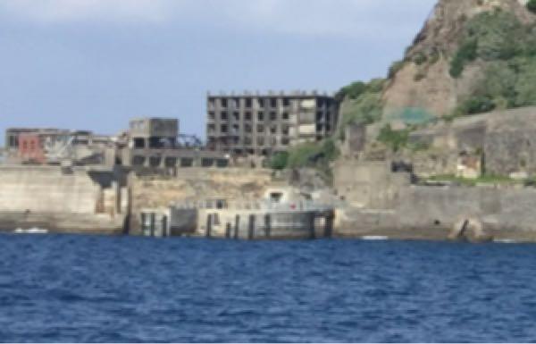 軍艦島端島上陸クルーズ・クルージング・ツアー・ドルフィン桟橋