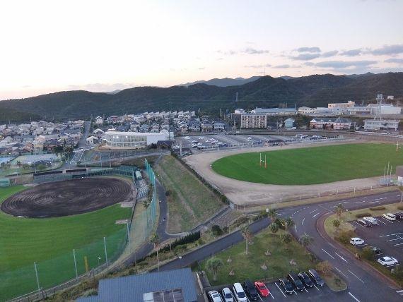 和歌山 串本ロイヤルホテル 楽天トラベルで予約した絶景と温泉のお宿 NTTドコモ レッドハリケーンズ