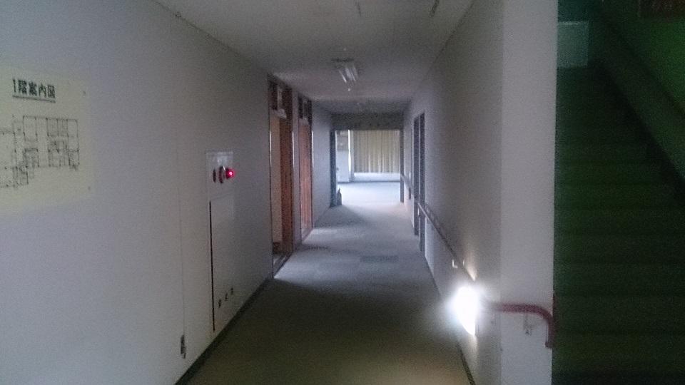 旧国民宿舎清和 廊下
