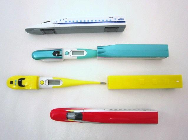 新幹線 体温計