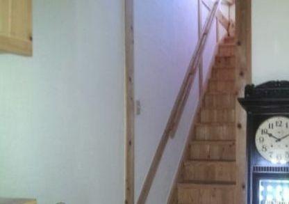 佐々木様邸5年階段