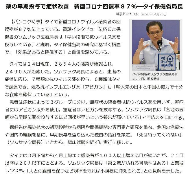 タイ保健局長英断4・26 | Shimojimのブログ - 楽天ブログ