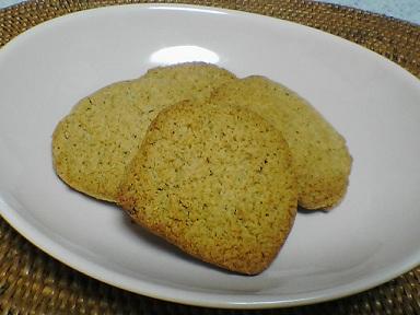 おからシナモンクッキー