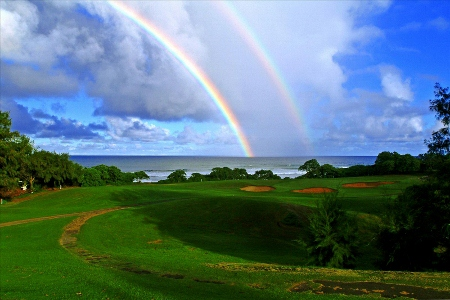WAILUA municipal golf course ワイルア カウアイ島