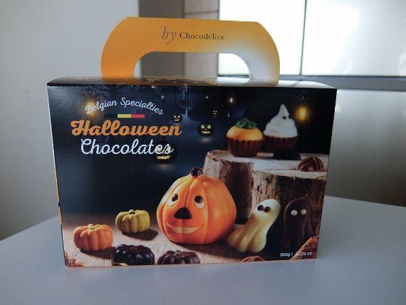 コストコ Costco ハロウィーン チョコレートボックス ベルギー 1,448円 Halloween Chocolates Box ハロウィン スイーツ 新商品