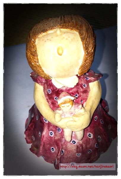 紙粘土人形3