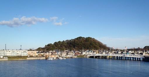 20130101夕照橋と野島