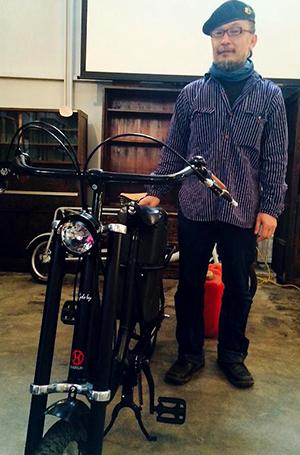 谷さんと自転車サイクルボーイ